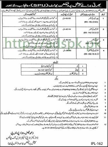 punjab police jobs 2018 constable application form