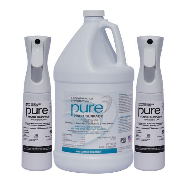 PURE Gallon+2-Spray-Bottles Kill Coronavirus