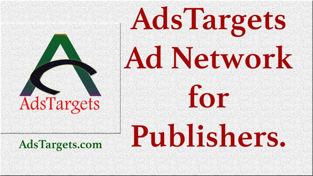 AdsTargets Ad Network alternative to Adsense