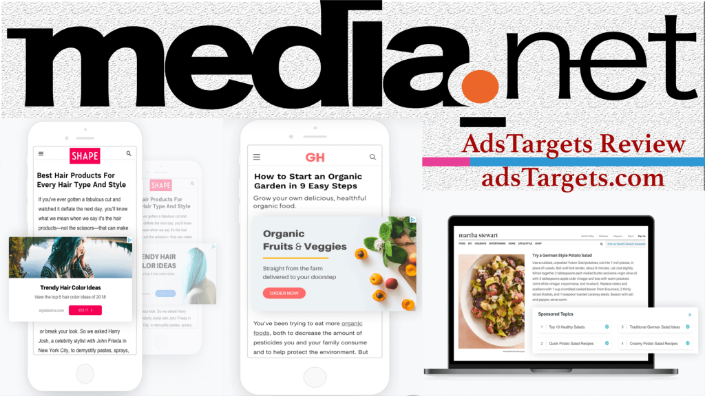 Medie.net Adsense alternative ad network