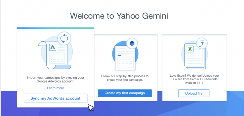 Welcome to Yahoo Gemini