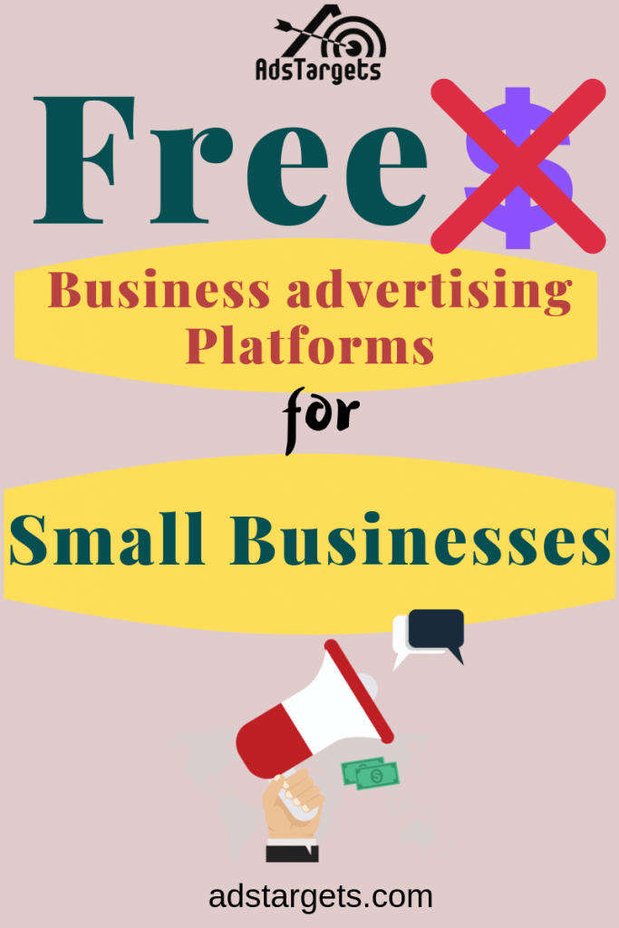 Free Advertising Platforms for small businesses