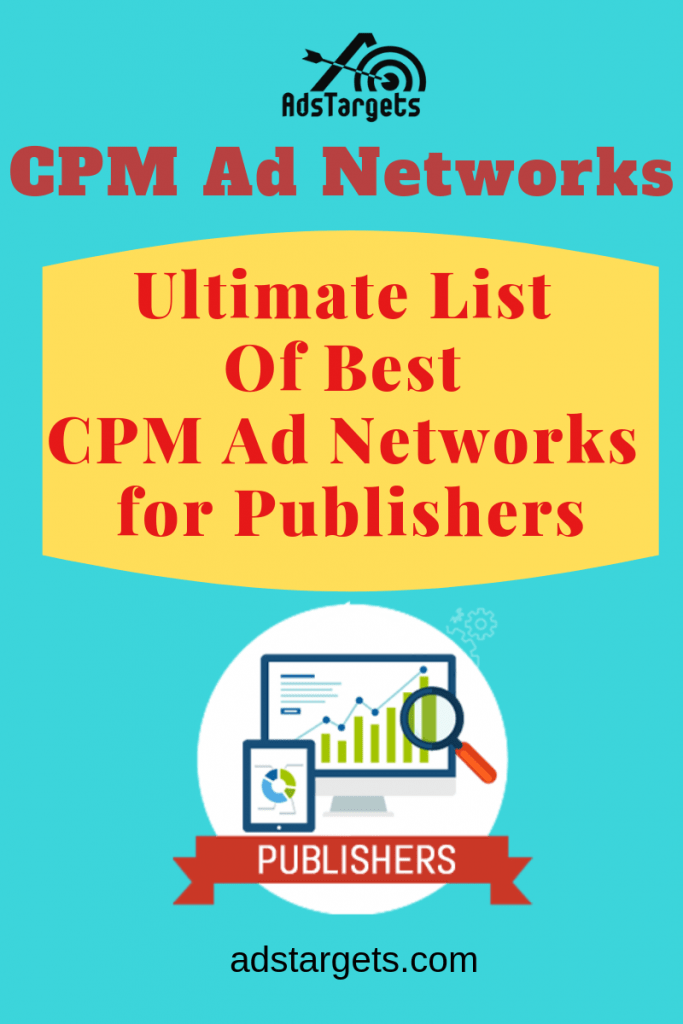 Best CPM Ad Networks for publishers
