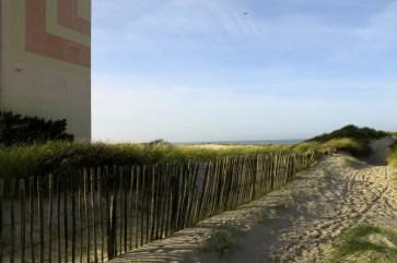 Barrière, dunes