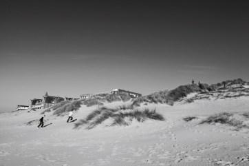 Dunes course d'enfants