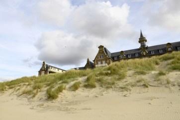 Institut Calot, de la plage