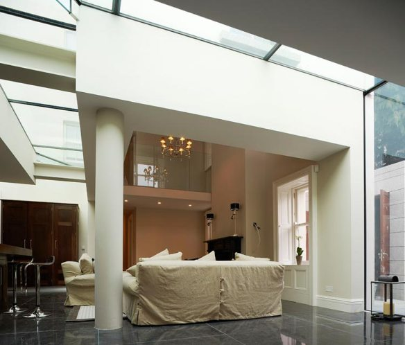 Ailesbury House Glass Floor / Ceiling