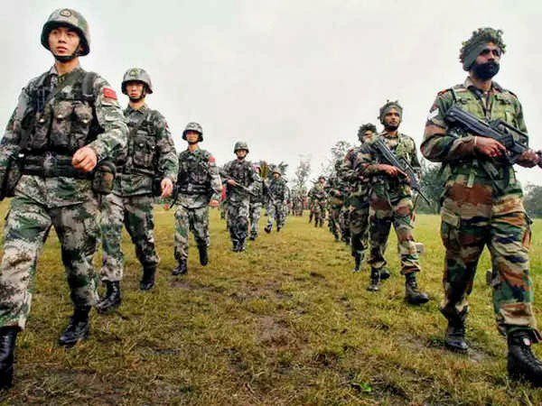 india-china face off at galwan valley