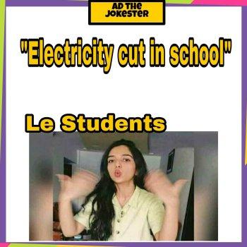 School life funny memes in Hindi