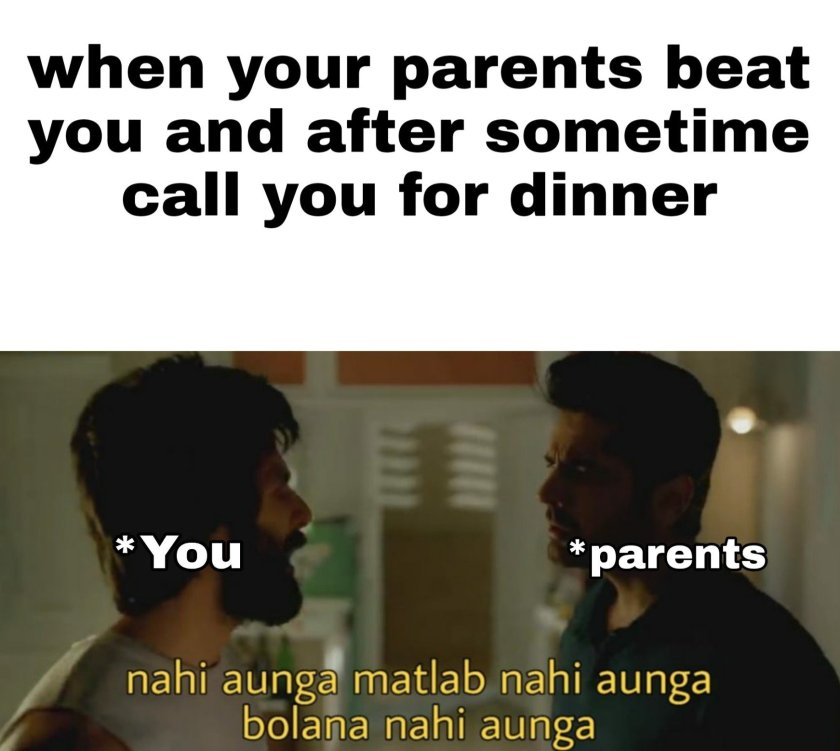 Memes on Parents