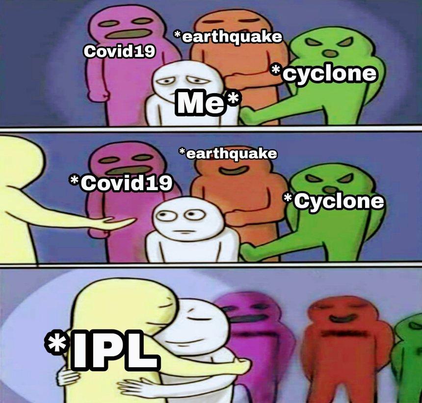 IPL 2020 meme