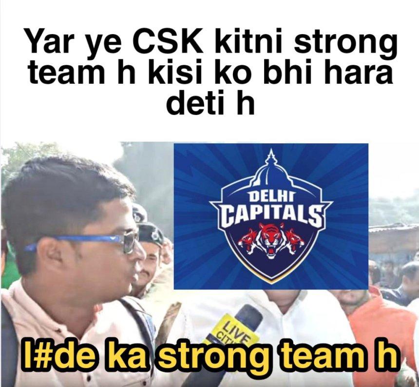 CSK  memes