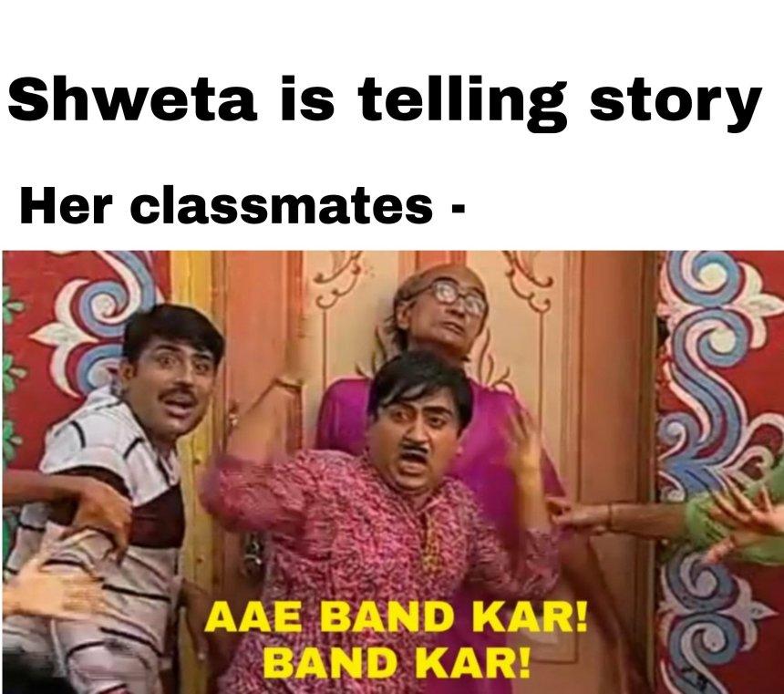 Latest memes in Hindi
