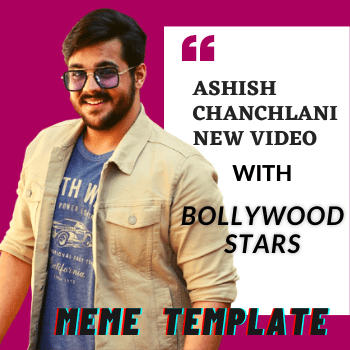 Ashish Chanchlani new video with Bollywood