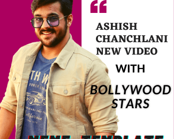 Ashish Chanchlani new video with Bollywood