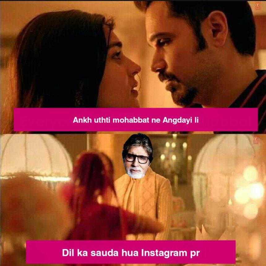 Amitabh Bachchan Memes, Bollywood memes