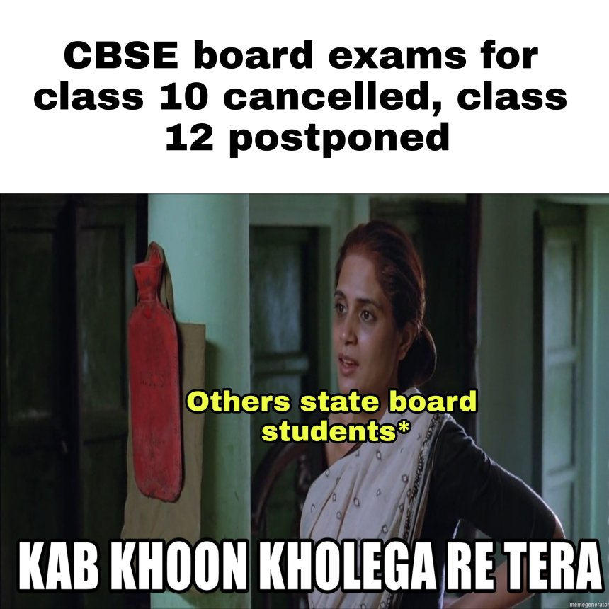 CBSE Board and Other state Board students