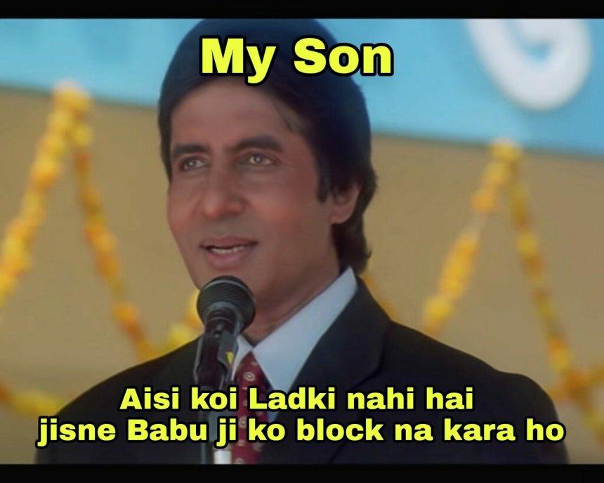 Dad and Son jokes- Tharki friend memes