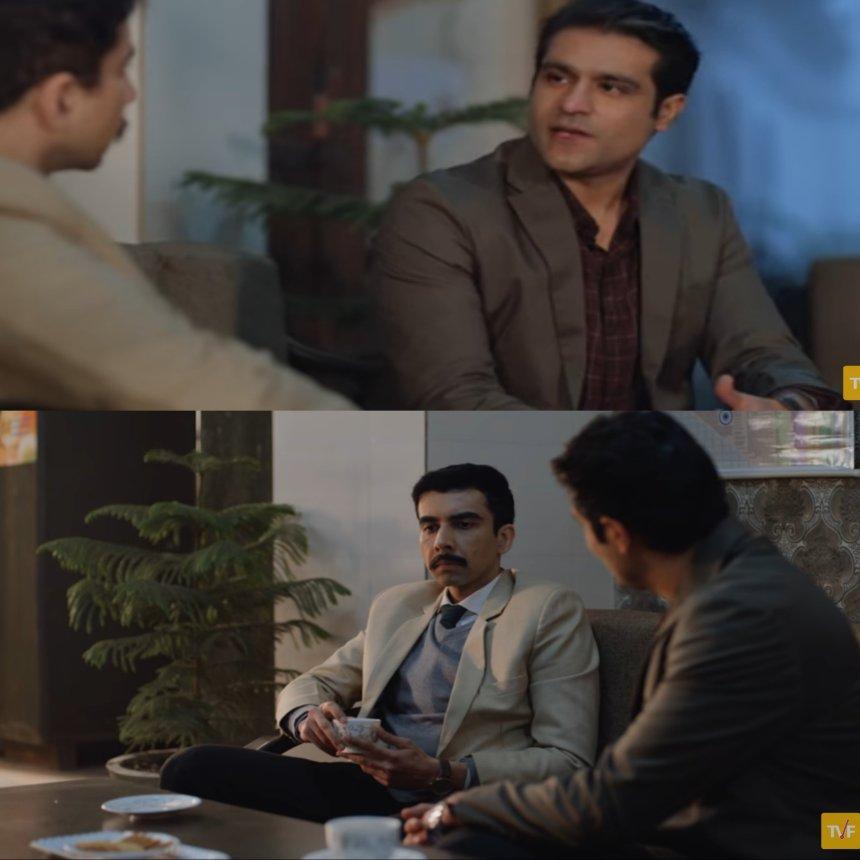 Sandeep Bhaiya and Abhilash meme template Aspirants