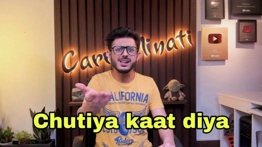 kaat diya meme templates, CarryMinati