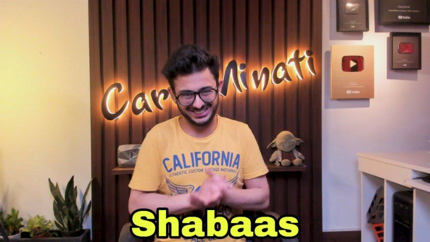 CarryMinati Shabaas meme template