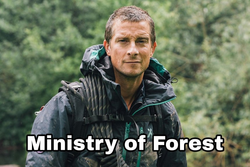 Ministry of Forest - bear grylls memes