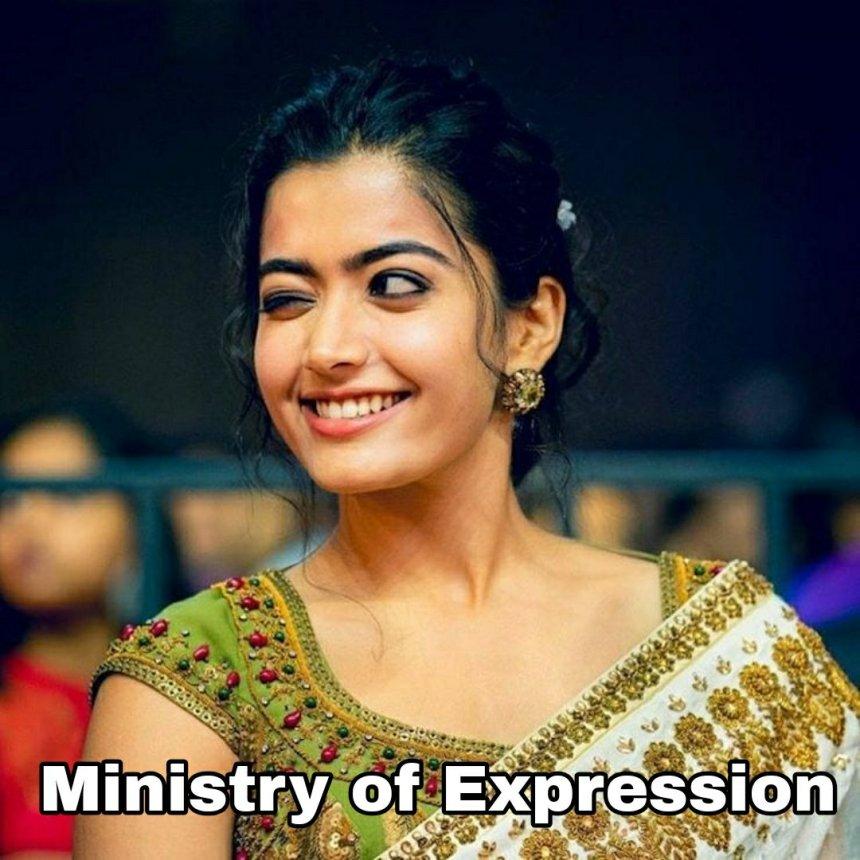 Ministry of Expression - rashmika mandanna memes