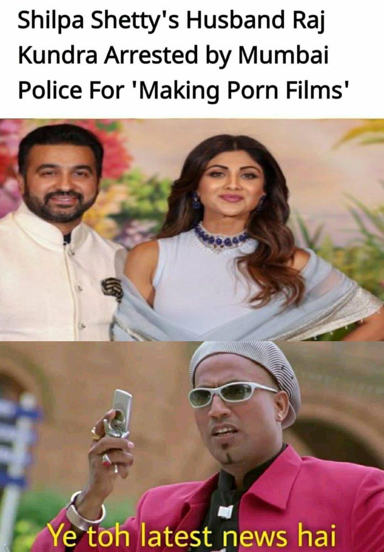 Shilpa shetty husband raj kundra memes