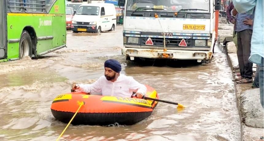 Tajinder Pal Singh Bagga River Rafting meme template