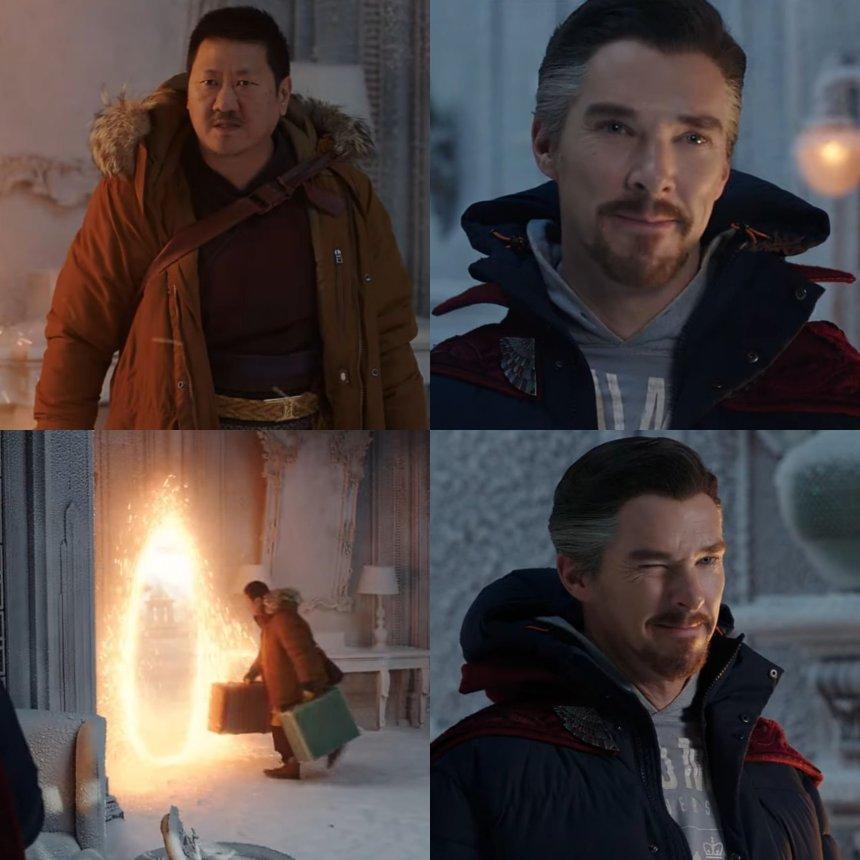 Doctor Strange meme template