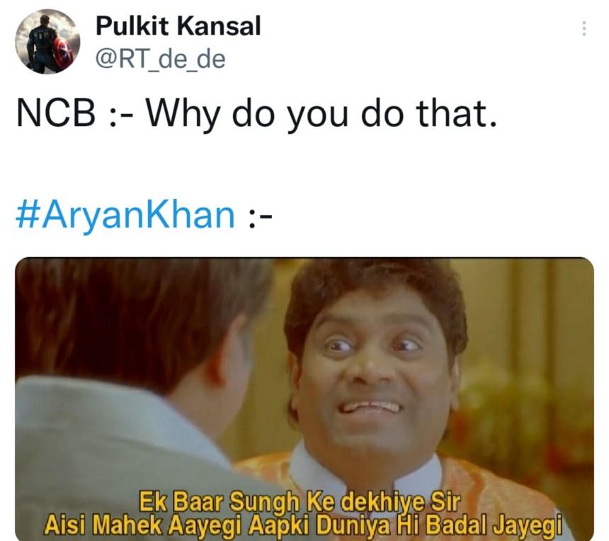 Aryan Khan and SRK jokes