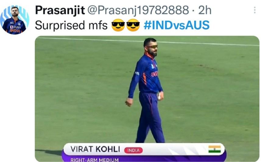 T20 WC India vs Australia memes