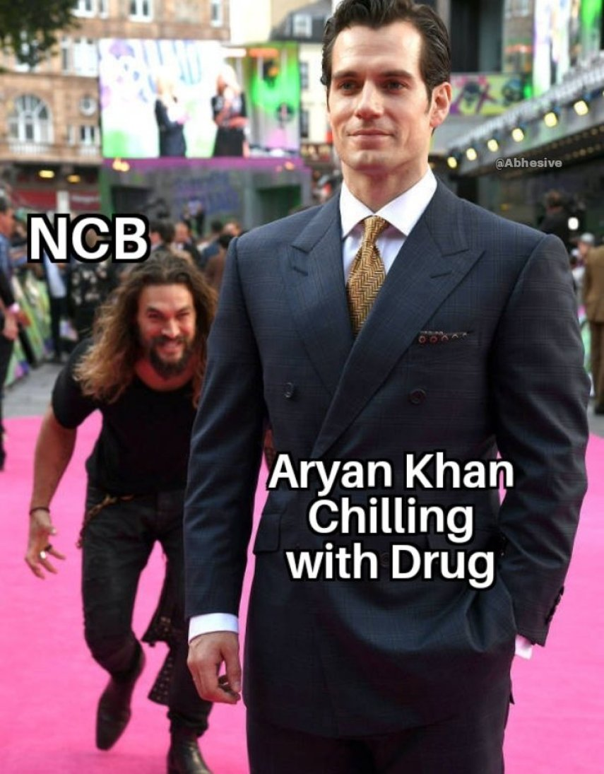 Funny jokes on Aryan Khan