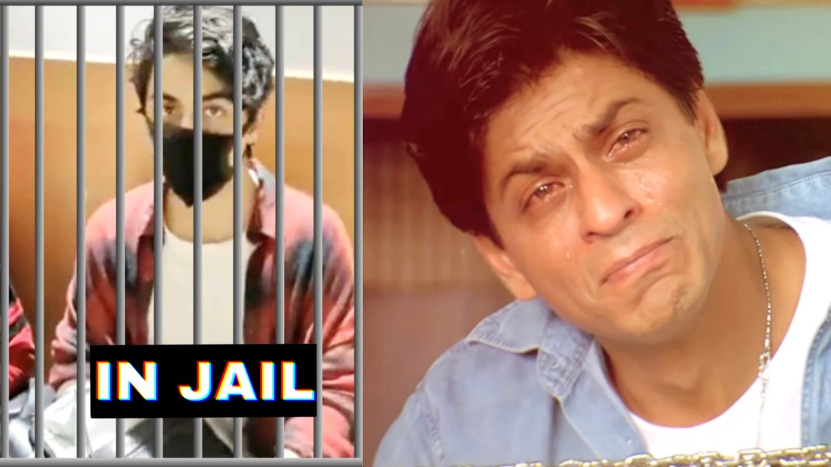 SRK and Aryan Khan memes after NCB raid