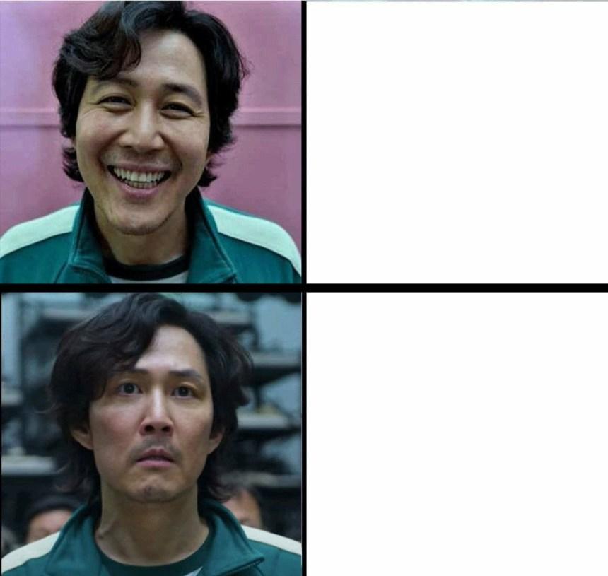 Happy Vs Sad meme template