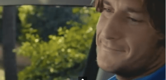 totti fiat car advert