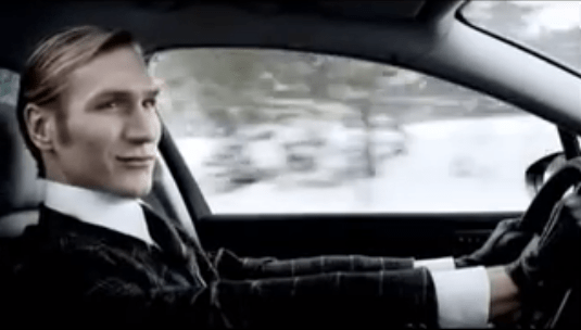 citroen c5 car advert