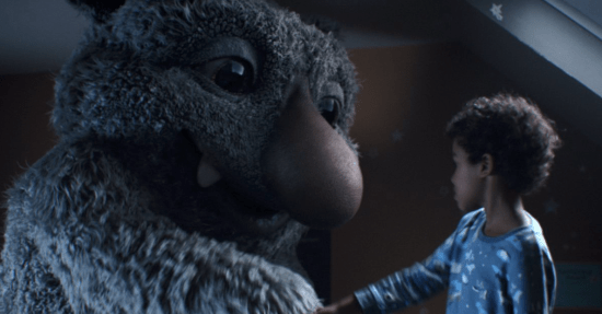 John Lewis Christmas Advert: Moz The Monster