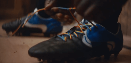 Carling advert rainbow laces