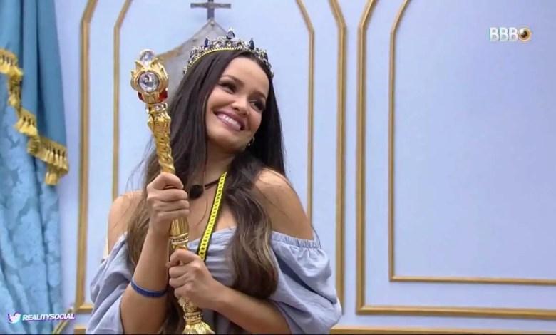 Juliette é a nova Líder (Reprodução/TVGlobo/Globoplay)