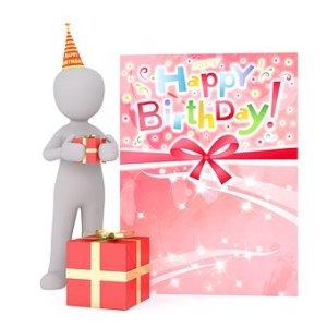 Person celebrating birthday - Adult ADHD FAQ