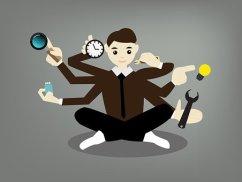 ADHD Husband multitasking