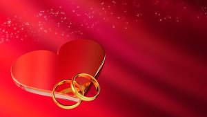 ADHD husband wedding rings