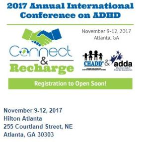 ADHD Conference: 2017 Annual International Conference on ADHD information