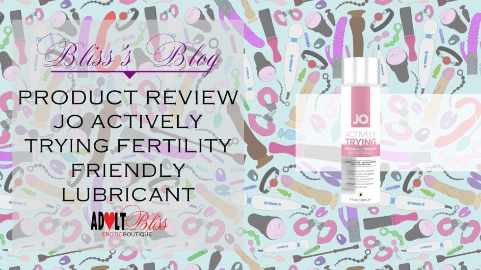 fertility friendly lubricant