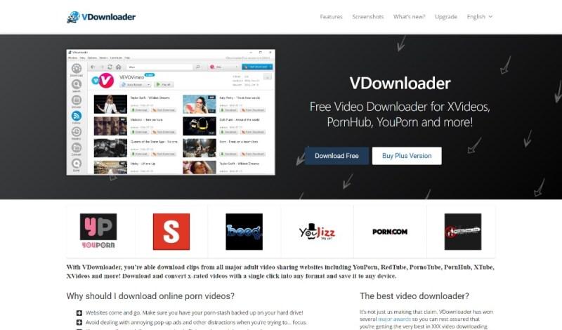 VDownloader Layout