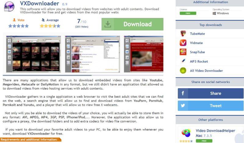 VXDownloader Layout