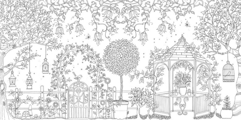 Secret Garden Coloring Book Pdf Free Fun Coloring Pages