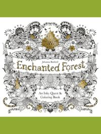 Enchanted Forest: An Inky Quest & Coloring Book - Adult ...