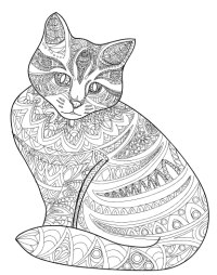 Amazing Animals Vol 1 - Anti-Stress Coloring Book for ...
